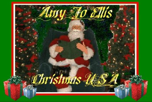 Product picture Amy Jo - Christmas USA - 10 song CD